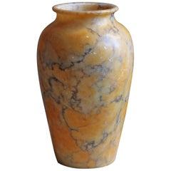 Swedish, Vase, Alabaster, Sweden, 1930s