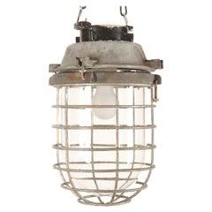 Swedish Vintage Large Factory Industrial Lamp