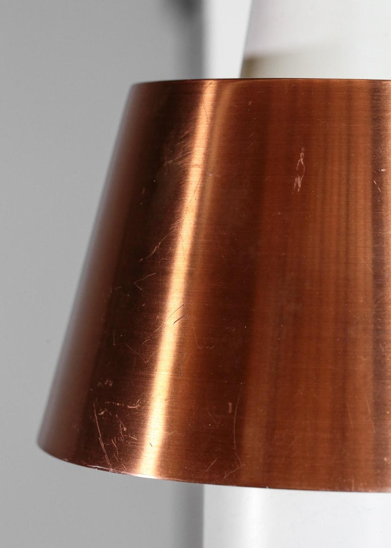 Swedish Wall Light for Luco Vintage Copper For Sale 2