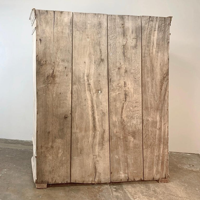 Swedish Whitewashed Armoire, 19th Century For Sale 10