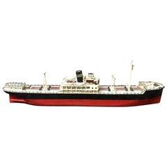 Schwedisches Holzmodell eines Dampfschiffes