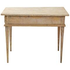 Swedish Writing Desk with Single Drawer
