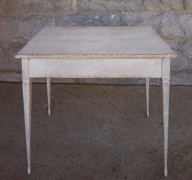Swedish Writing Table with Drawers For Sale 1
