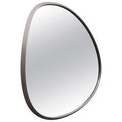 Sweep Wall Mirror in Brushed Aluminum