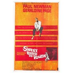 """Sweet Bird of Youth"" 1962 U.S. One Sheet Film Poster"
