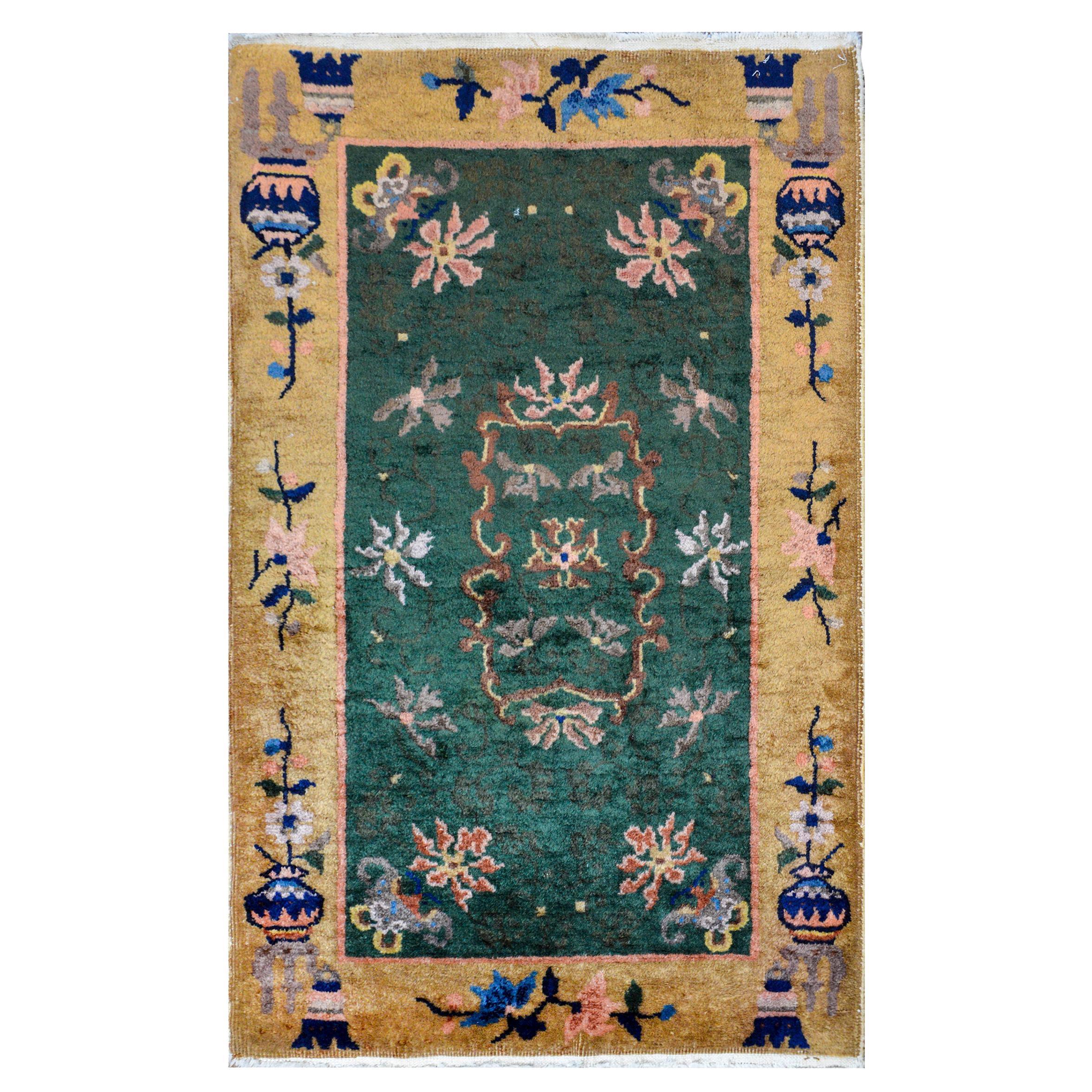 Sweet Chinese Art Deco Rug