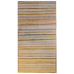 Sweet Mid-20th Century Saveh Kilim Rug