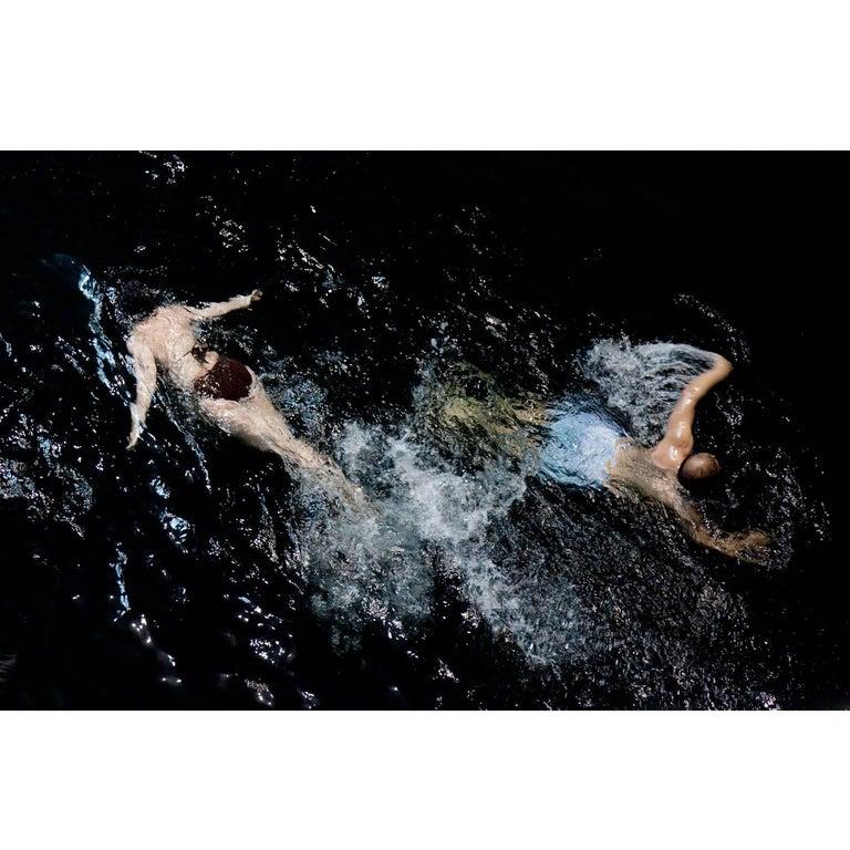 """""""Swim"""" 9301 Archival Print by Francine Fleischer"""