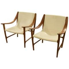 Swing armchair by Carlo Colombo