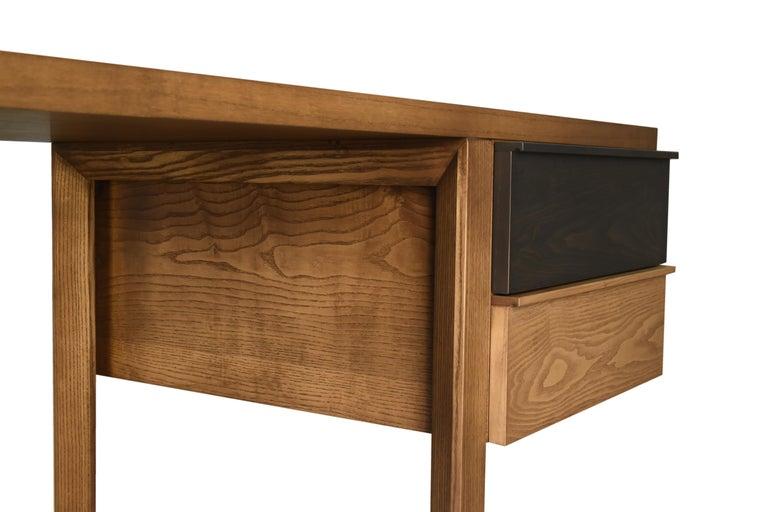 Swing Desk Made of Ashwood, Design Libero Rutilo For Sale 2