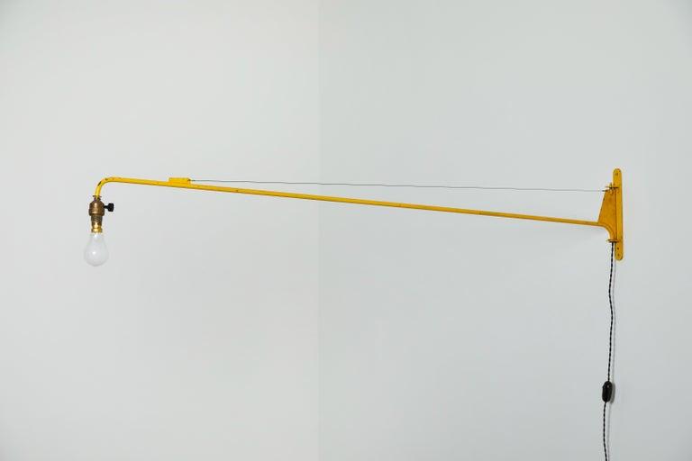 Swing Jib Wall Light by Jean Prouvé 3