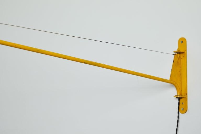 Swing Jib Wall Light by Jean Prouvé 6