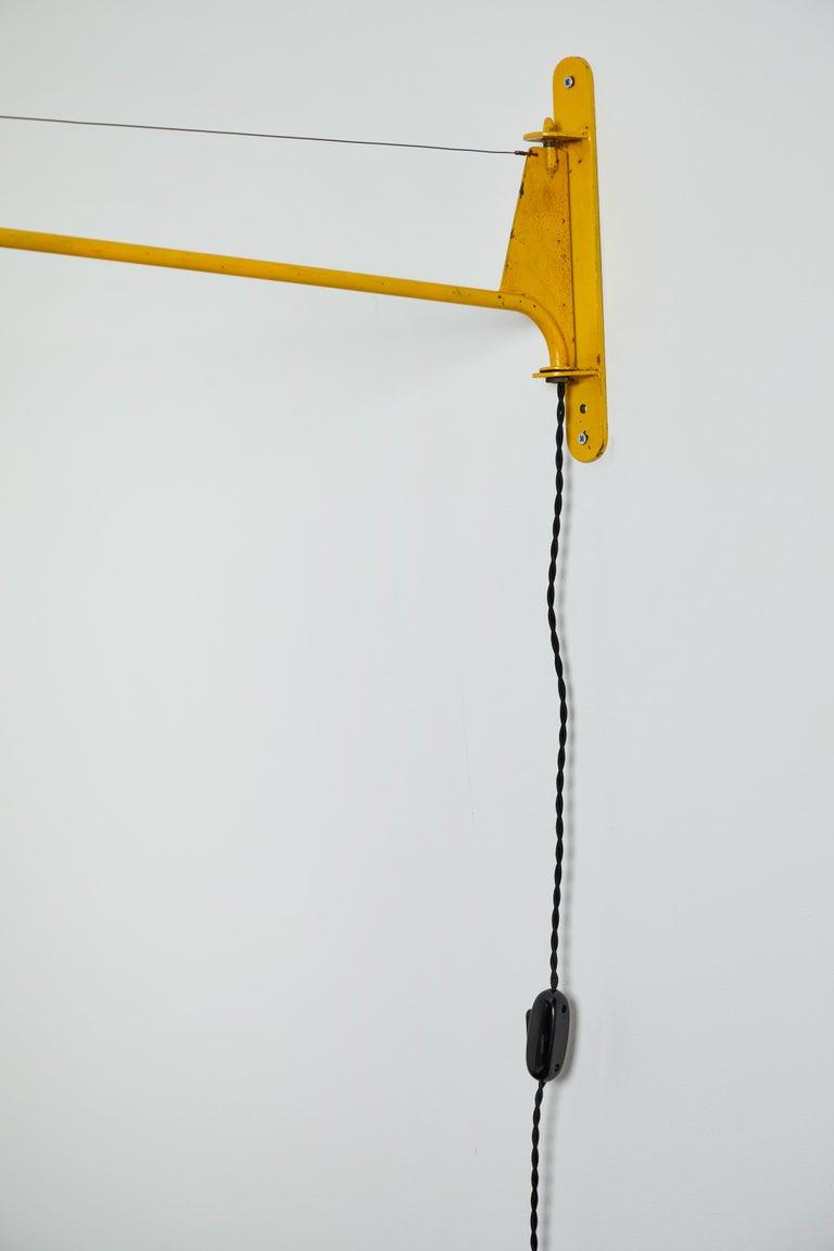 Swing Jib Wall Light by Jean Prouvé 7