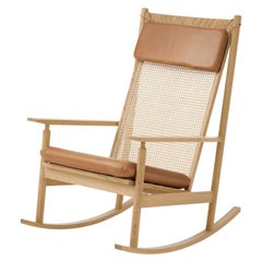 Swing Rocking Chair in Oak, by Hans Olsen from Warm Nordic