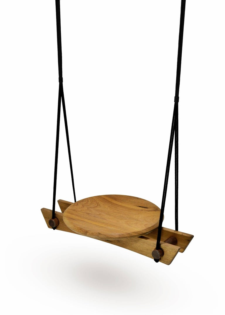 Other Swing 'Viga' in Tropical Brazilian Hardwood, Contemporary Brazilian Design For Sale