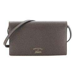 Swing Wallet on Strap Leather