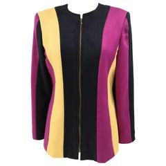 Swish Black Purple Yellow Jacket
