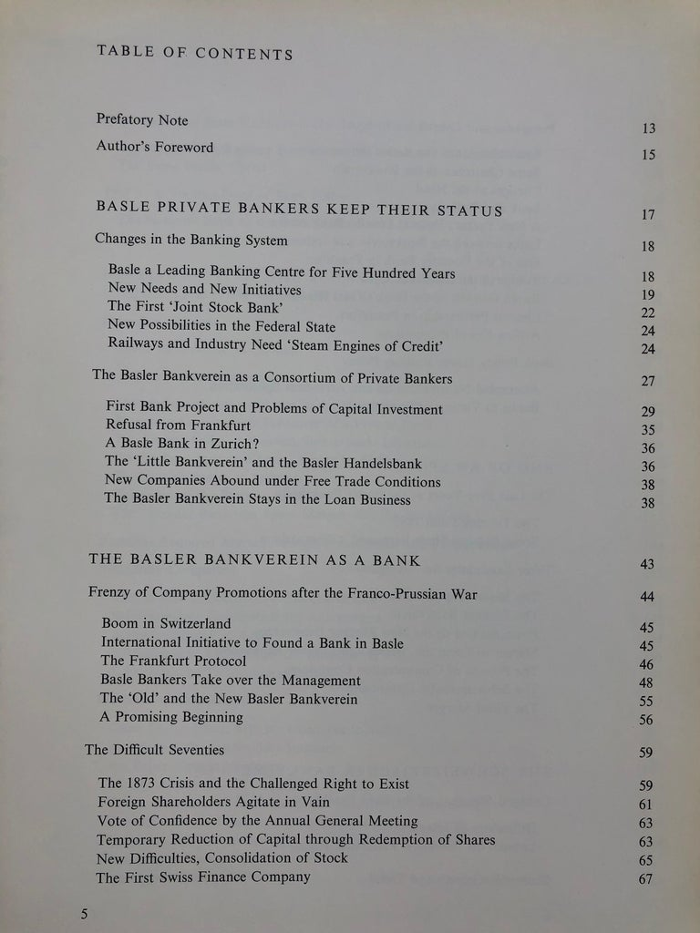 Swiss Bank Corporation 1872-1972 by Hans Bauer For Sale 3