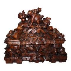 Swiss Black Forest Jewelry Box, circa 1890