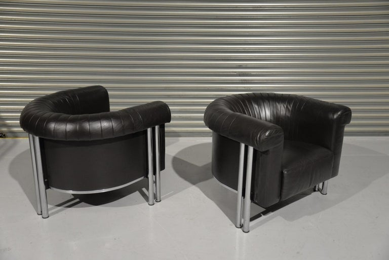 De Sede Executive Lounge Armchairs, Switzerland 1980s For Sale 1