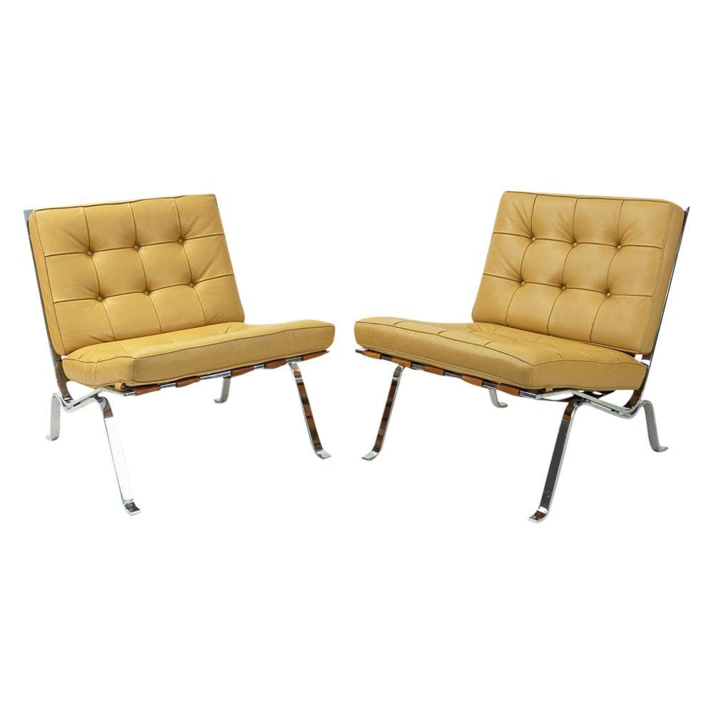 Swiss De Sede RH-301 Lounge Chairs by Robert Haussmann, 1960s, Set No 1