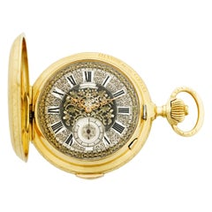 Swiss Grande Sonnerie Quarter-Repeater Pocket Watch