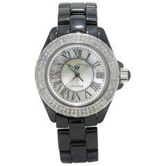 Swiss Legend Karamica Diamonds 20051-WBKWSR, Mother of Pearl