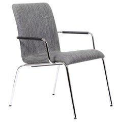 Swiss Made, Poro Lounge Chair in Gray, by Dietiker