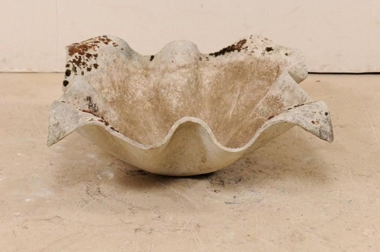 Swiss Midcentury Willy Guhl Handkerchief Sculptural Planter, Indoor/Outdoor For Sale 2