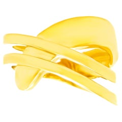 Swiss Modern Gold Ring by Gubelin