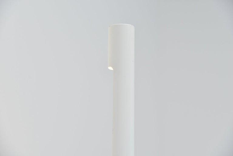 Swiss Tube Floor Lamp Aldo Nieuwelaar Style, Switzerland, 1970 For Sale 1