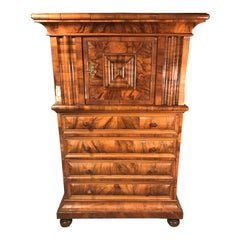 """Swiss """"Windellade"""" Cabinet, 1770-1780"""