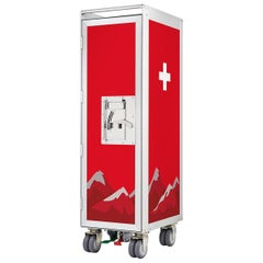 Switzerland Aircraft Bar Trolley