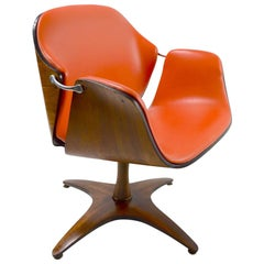 Swivel Chair by Mulhauser for Plycraft
