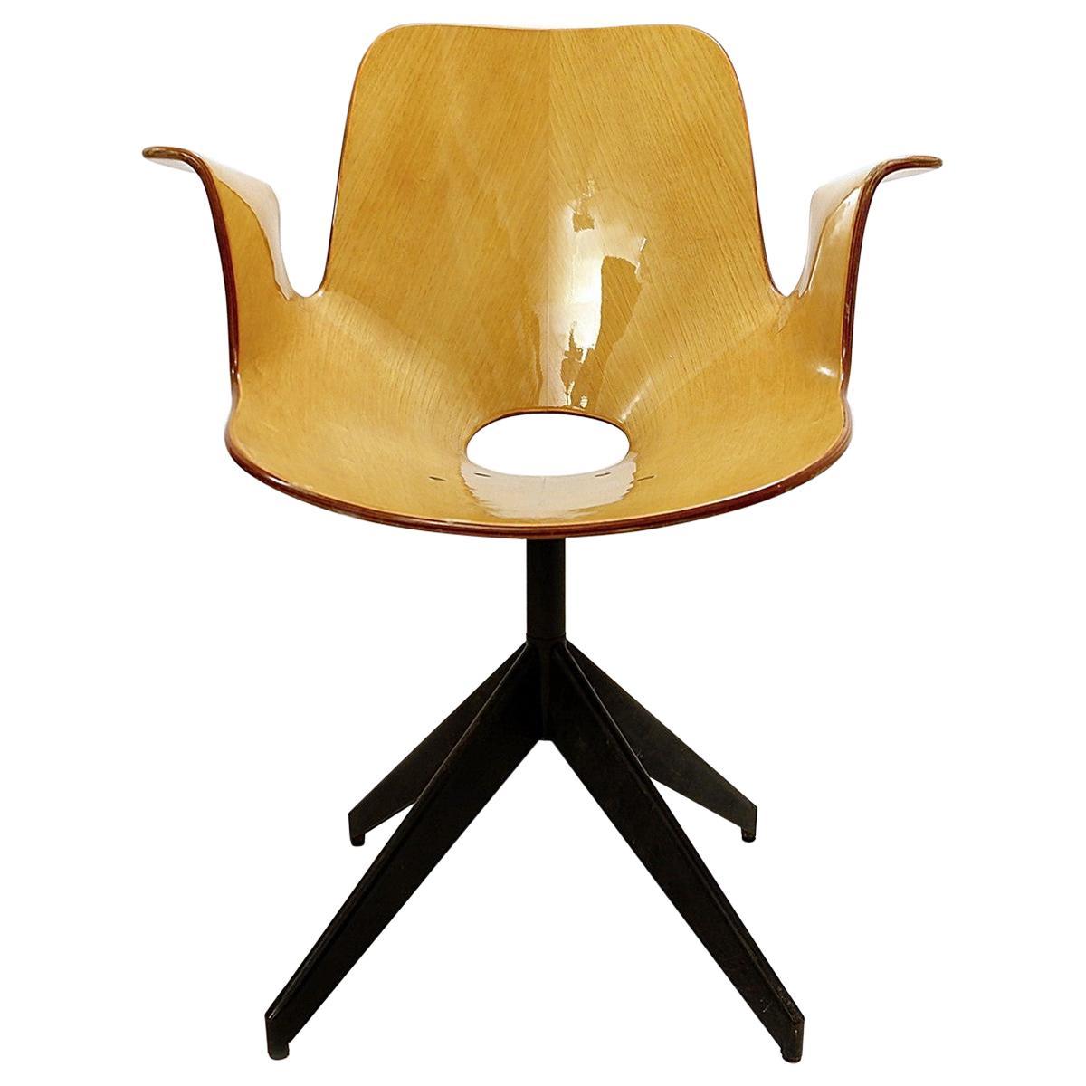 Swivel Chair 'Medea' by Vittorio Nobili for Fratelli Tagliabue, 1950s