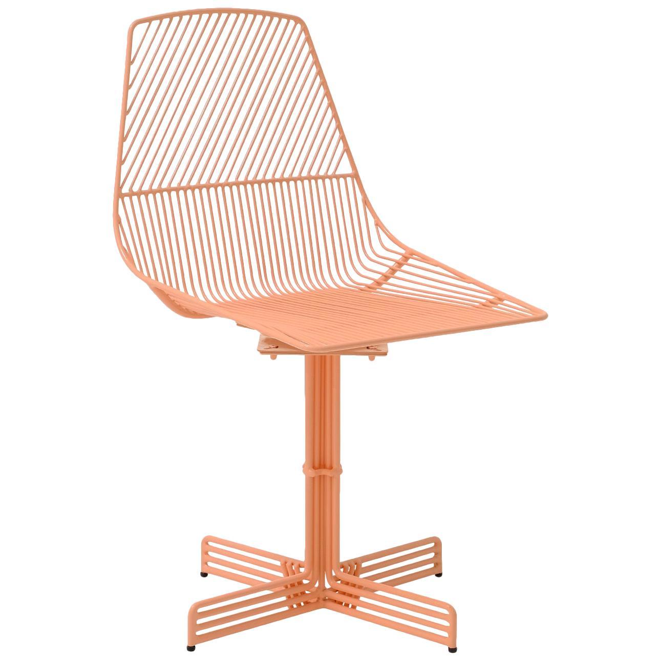 "Swivel Chair ""Swivel Ethel"" in Peachy Pink by Bend Goods"