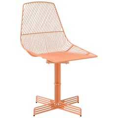 "Swivel Chair ""Swivel Ethel"" in Peachy Pink by Bend Goods"