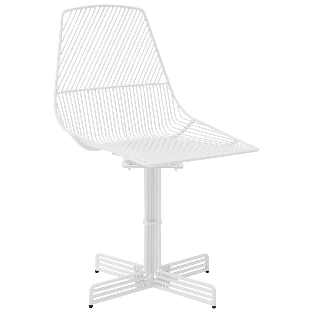 "Swivel Chair ""Swivel Ethel"" in White by Bend Goods"