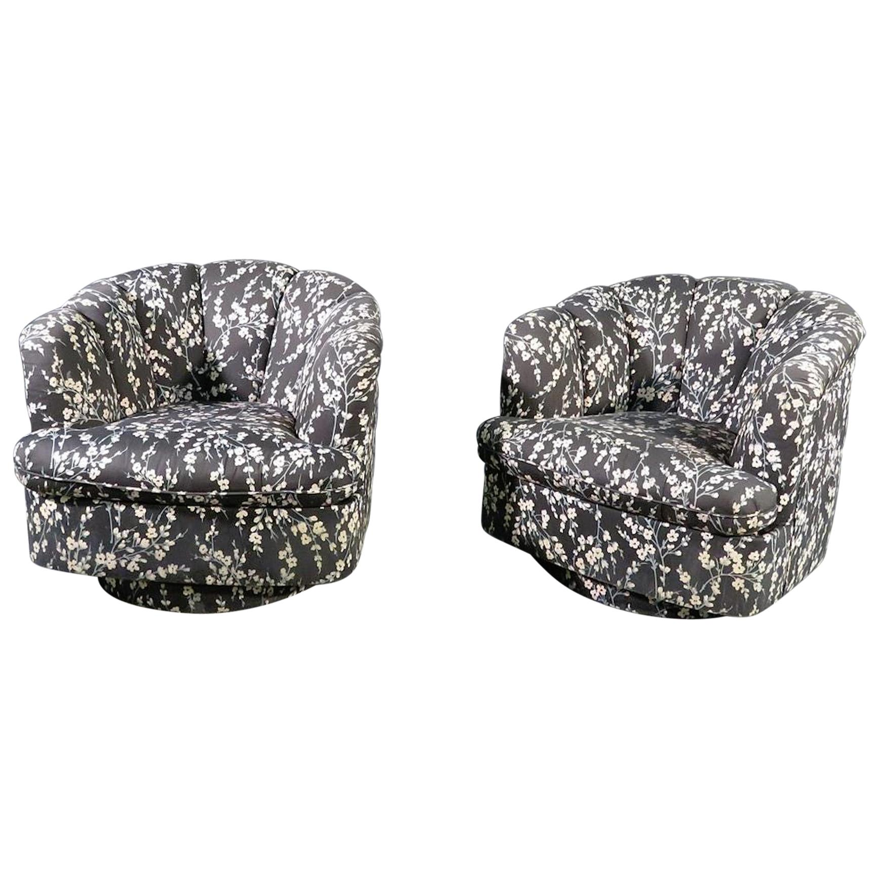 Swivel Chairs by Directional