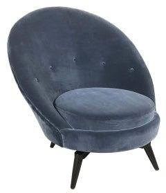 Swivel Egg Chair in COM