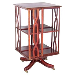 Swivel Library Bookcase Thonet Nr.1, Since 1904