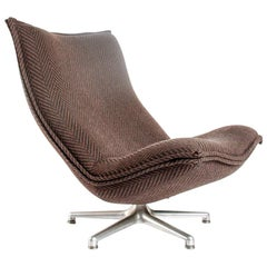Swivel Lounge Chair Model 984 by Geoffrey Harcourt for Artifort, circa 1970