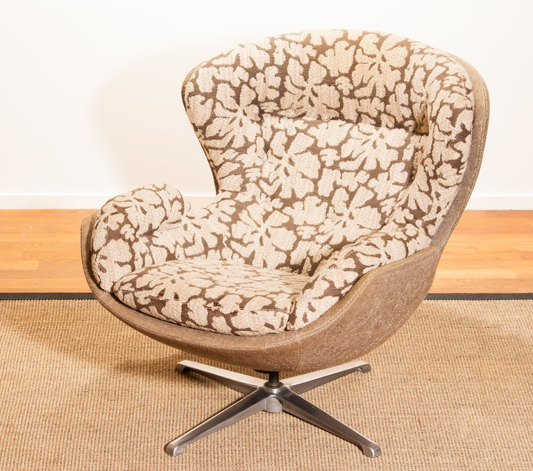 Swivel Lounge Chair 'Partner' by Lennart Bender for Ulferts, 1970s For Sale 6