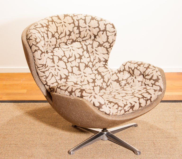 Swivel Lounge Chair 'Partner' by Lennart Bender for Ulferts, 1970s For Sale 7
