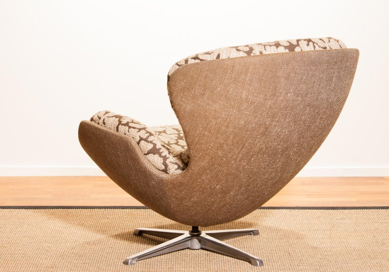 Swedish Swivel Lounge Chair 'Partner' by Lennart Bender for Ulferts, 1970s For Sale