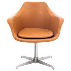 Swivel Office Armchair, Danish Design, 1970s
