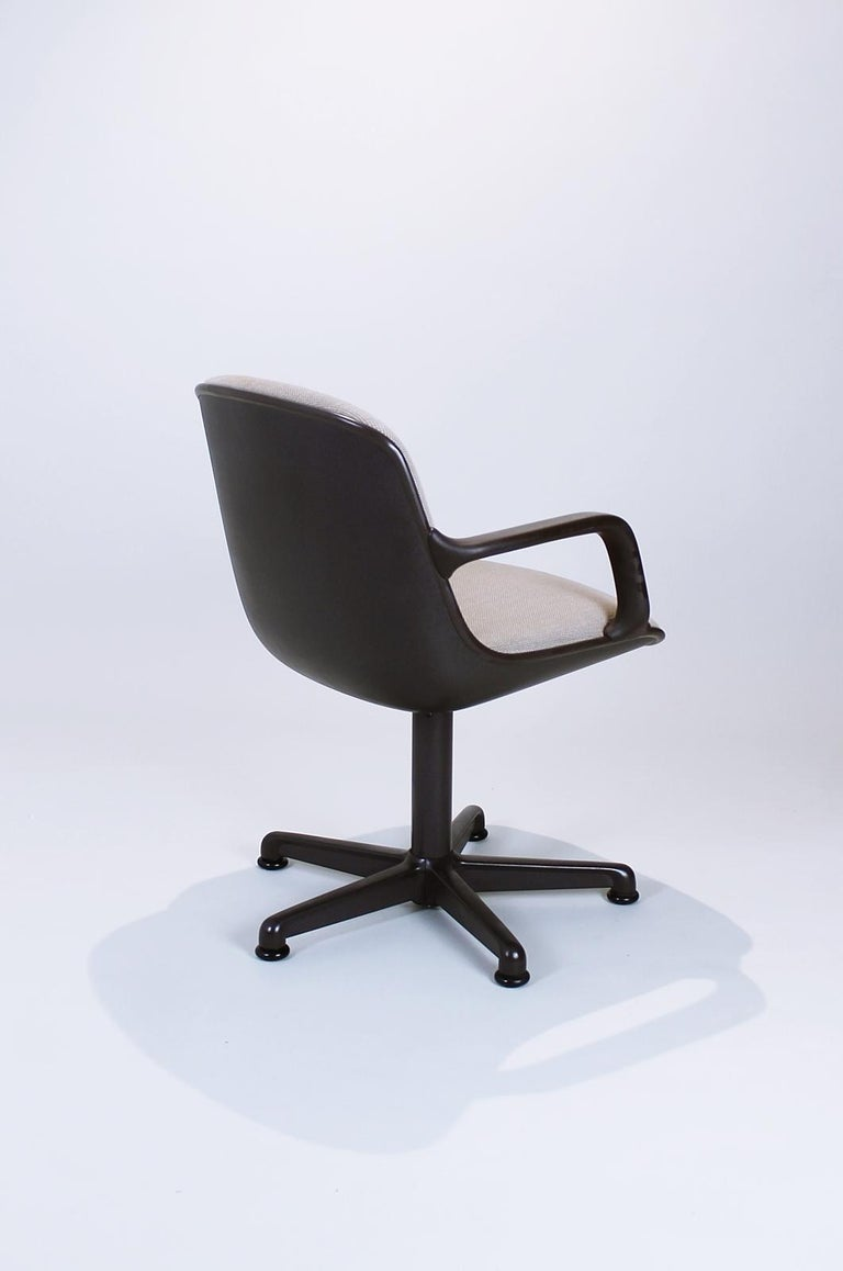 Mid-Century Modern Swivel Office Chair by Charles Pollock for Comforto, 1980s