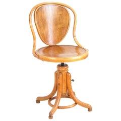 Swivel Office or Music Chair Thonet Nr.1
