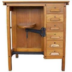 Swivel Seat Watchmaker's Desk