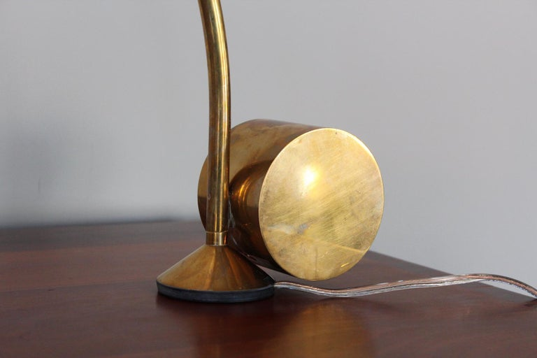 Late 20th Century Swiveling Desk Lamp by Cedric Hartman For Sale